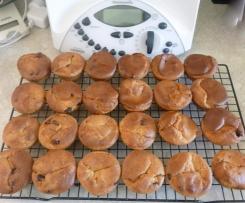 Choc-Orange Gluten Free Muffins