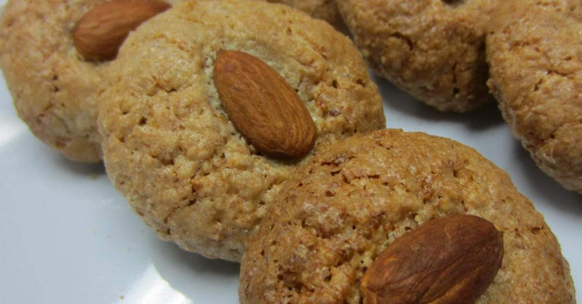 chewy orange almond biscuits by debbie tong a thermomix