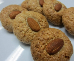 Chewy Orange Almond Biscuits