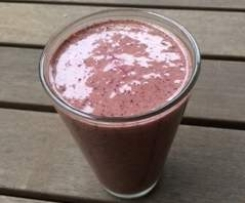 Choc Blueberry Protein Smoothie