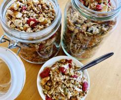 Grain free/Keto Raspberry Granola