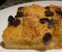 Caramel Bread and Butter Pudding