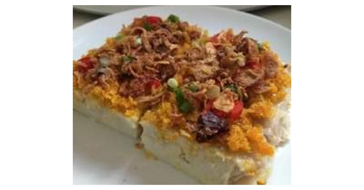 Steam Yam Cake By Joannakung A Thermomix Sup Recipe In The Category Baking Savoury On Www Recipecommunity Com Au