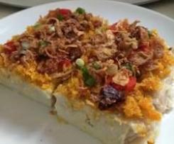Steam Yam Cake