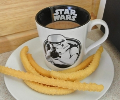Churros and Thick Hot Chocolate