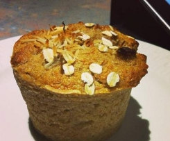 Crunchy Top Banana and Coconut Muffins