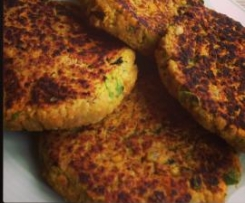 Veggie & Chick Pea Patties