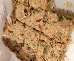 Muesli bars (nut, egg and dairy free)