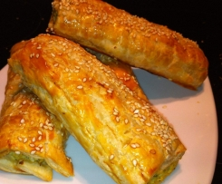 Chicken and Veggie Sausage Rolls