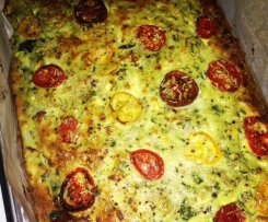 Paleo Zucchini Slice