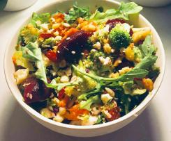 Ultimate Vegan Cleansing Salad