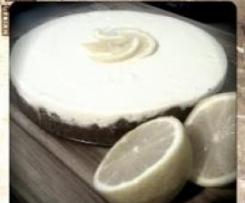 Easy Lemon and Ginger Cheesecake