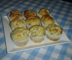 Spinach and Fetta Muffins