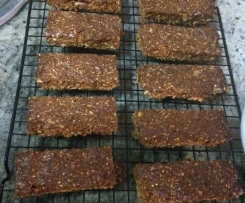 Sweet and Salty Nutty Crunchy Museli Bars