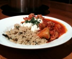 Spanish Chicken and  Chorizo and  Minted Couscous (VAROMA)