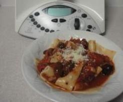Tomato, bacon & olive pasta sauce