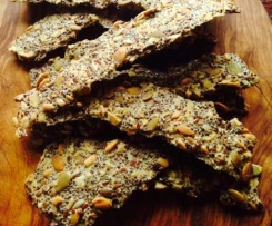 Seedy Gluten-Free Crackers