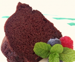 """Magic Bean"" chocolate cake"