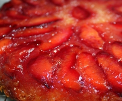 Upside Down Plum Cake