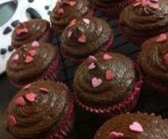 Silken Tofu Chocolate Cupcakes