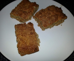 Cinnamon & Coconut Blondies (Gluten Free)