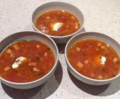 White Bean and Chorizo Soup (conversion - Bill Granger)