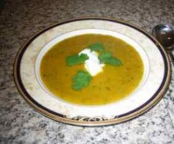 Kumera and Coriander Soup