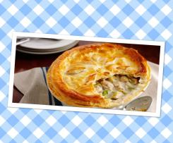 Pie maker Bacon, leek and mushroom pies