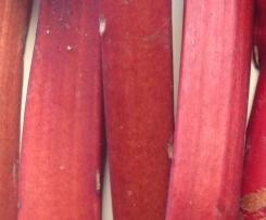 Rhubarb and raspberry jam