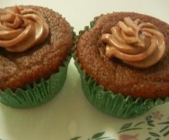 Gluten Free Choc Pear Cupcakes