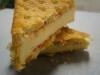 Raspberry Waffle Slice
