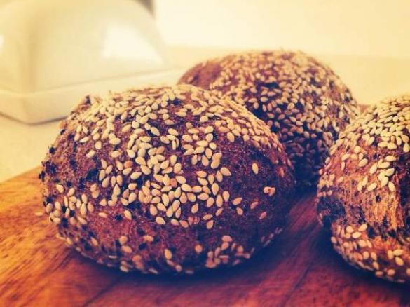 Super Soft Paleo Grain-free Seed Bread Rolls