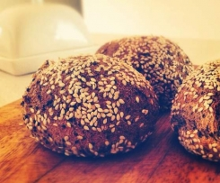 Super Soft Paleo Grain-free Seed Bread Rolls