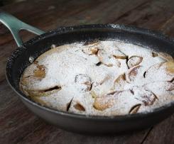 Apple Cinnamon Pancakes (Gluten Free, Dairy Free, Nut free, Refined sugar free)