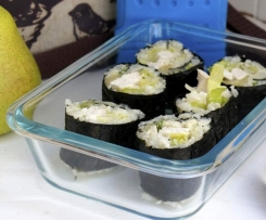 "Hidden Veggie ""Cauli Rice"" Sushi - Back to School Lunchbox"