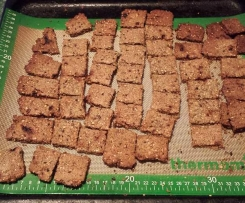 Ryvita Style Crackers (Wheat, Dairy & Sugar Free)