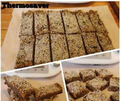 Raw Chocolate, Almond & Apricot Energy Bars
