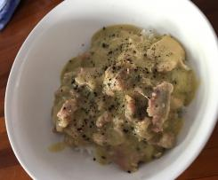 Chicken and Bacon Creamy Sauce - Dairy Free