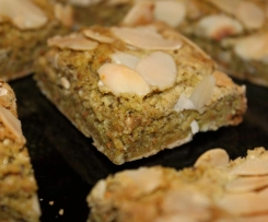 Chewy Almond & Pistachio Squares