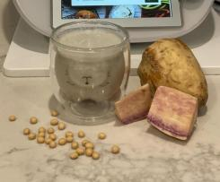 Purple sweet potato soymilk