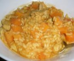 Chicken & Sweet Potato Risotto
