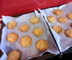 """Clean"" Anzac Biscuits"