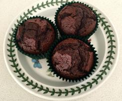 Chocolate, Raspberry and Blueberry muffins