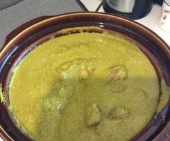 Lamb Saag Curry (FODMAP friendly)
