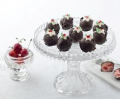 Clone of Cherry Ripe Slice - Chocolate Coated Christmas Coconut Balls