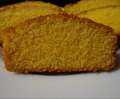 Naturally sweetened cornbread