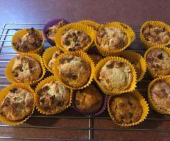 Choc Peanut Muffins
