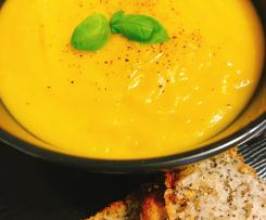 Pumpkin Soup with Chorizo