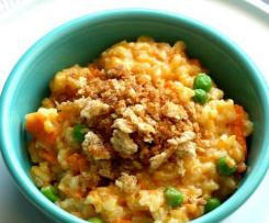Sweet Potato Pea Risotto