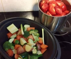 Vegetable and Tomato Paste